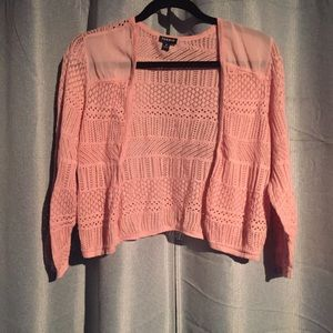 TORRID Crop Knitted Cardigan Size 2